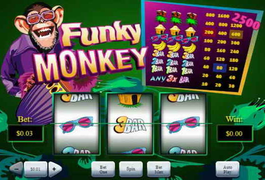 Information on Funky Monkey 2 Online Slots