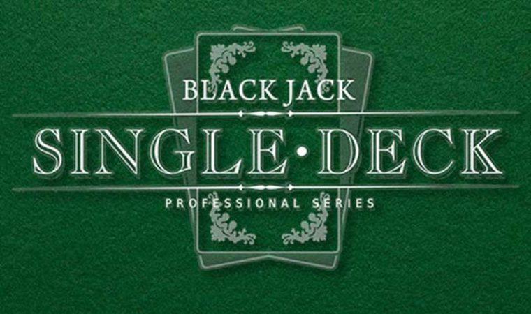 Blackjack Single Deck Low Limit