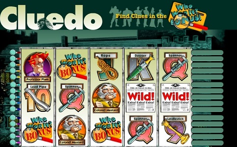 Cluedo Slots Game Makes Whodunit Profitable