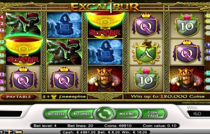 Excalibur Video Slot Review & Guide for Players