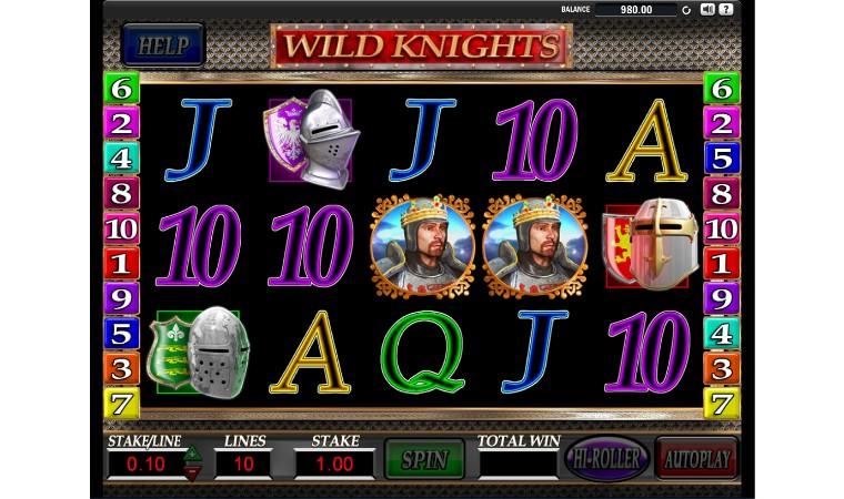 Wild Knights Online Slots
