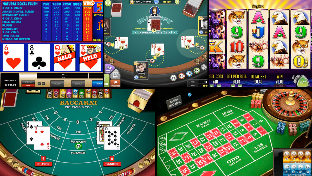 best of casino games