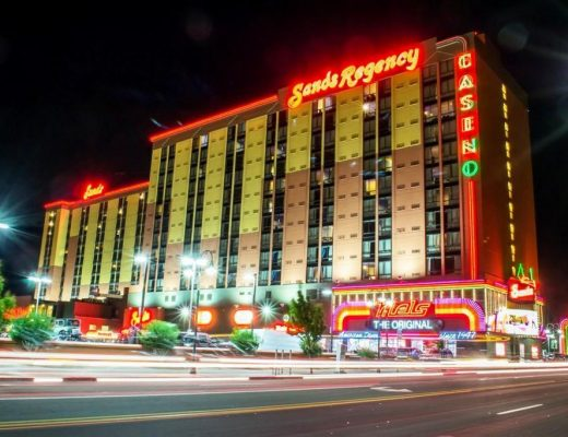 Review of The Sands Regency Hotel and Casino